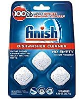 Finish In-Wash Dishwasher Cleaner (3-Count)