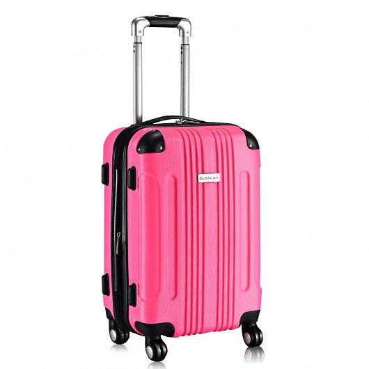 GLOBALWAY Expandable 20-inch Luggage Travel Bag Suitcase