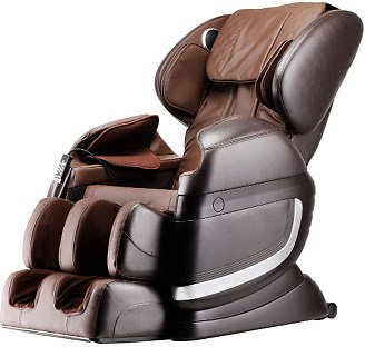 ESmart Ultimate Massage Chair with 30 Air Bags, 8 Back Rollers & Speakers