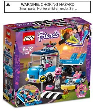 LEGO® Service & Care Truck 41348 & Reviews - Home