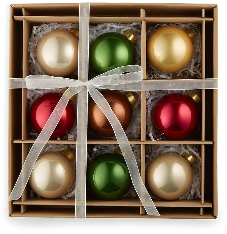 30% Off Kat + Annie Set of 9 Assorted Ball Ornaments