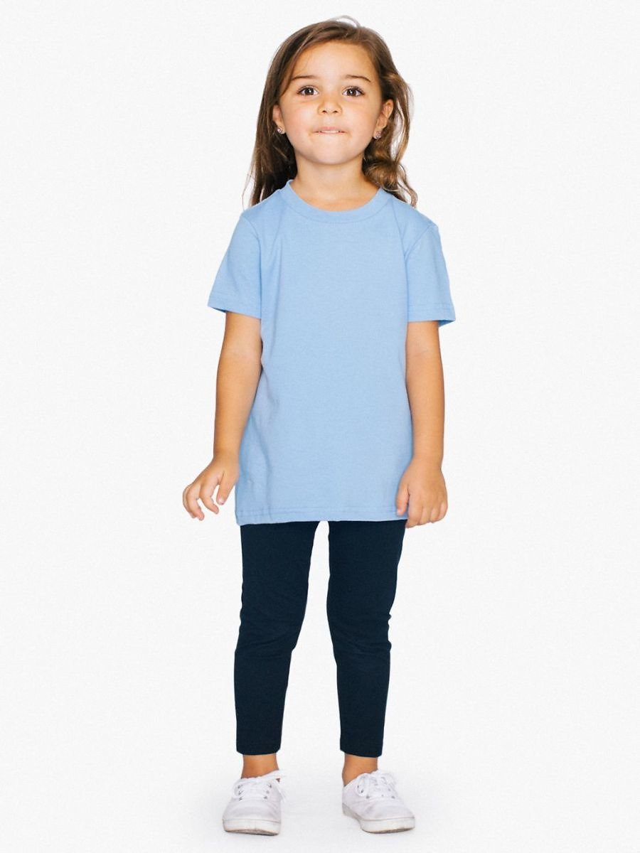 Toddler Fine Jersey Crew Neck T-Shirt (10 Colors)
