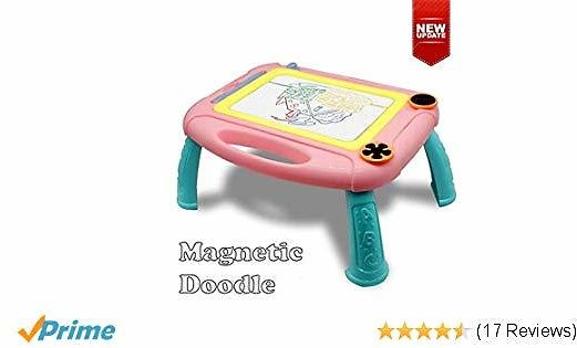 Snailrun Kids Toys for 1-3 Year Old Girls Magnetic Doodle Board Drawing Tablet Educational Learning Toys or Gifts