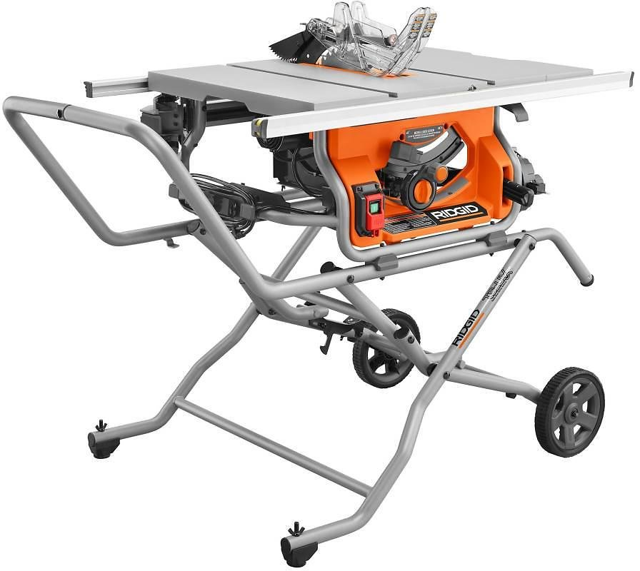 10 In. Pro Jobsite Table Saw with Stand