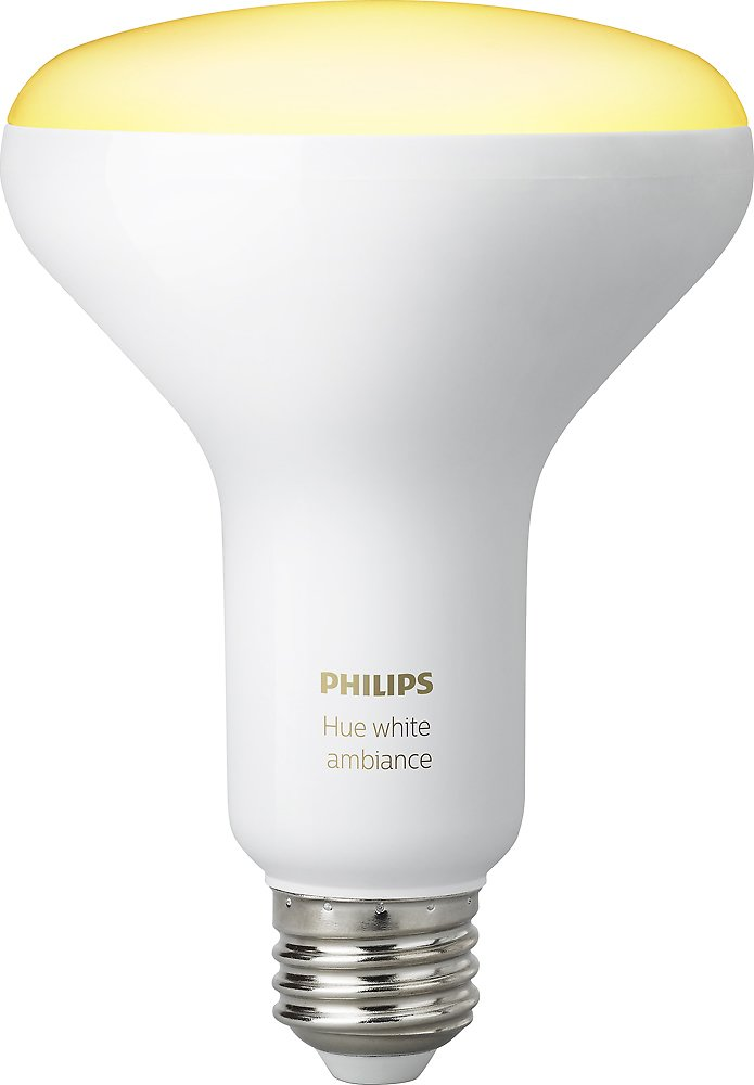 2-Pack Philips Hue Dimmable Wi-Fi Smart Floodlight