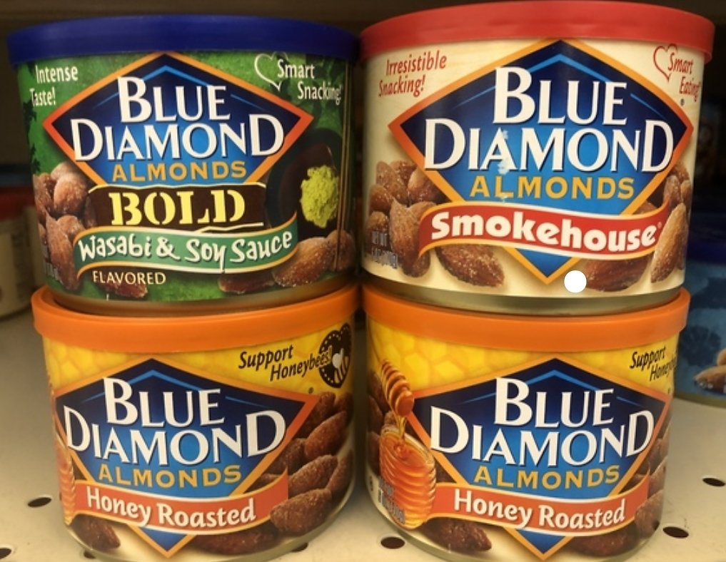 6-Ounce Blue Diamond Almonds (Various Flavors)| Walgreens