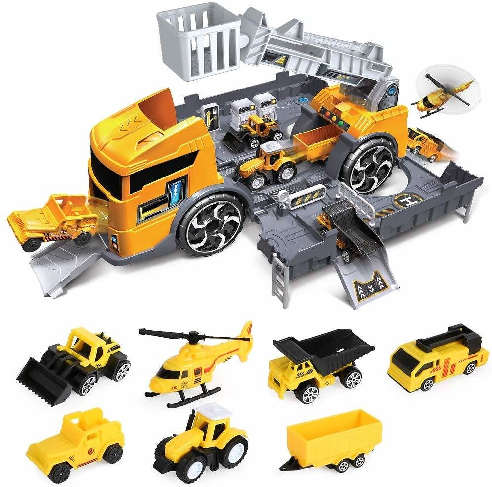 Construction Truck Vehicle Car Toy Set Play Vehicles for Kids