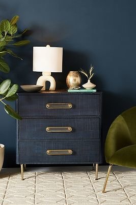 Odetta Three-Drawer Dresser