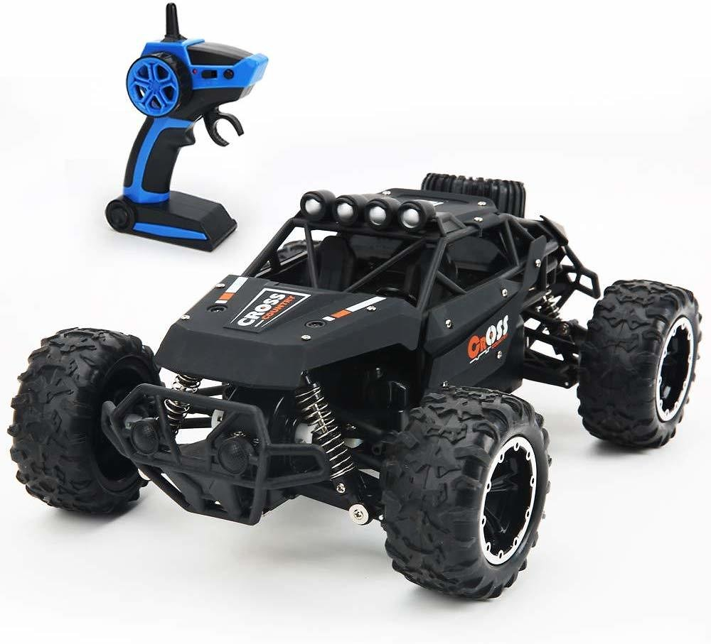 2.4 GHz 1/16 Scale 4WD High Speed 25km/h Remote Control Off Road Car for All Adults and Kids