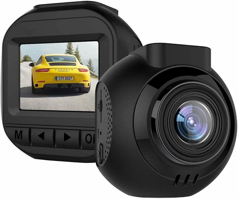 Dash Camera for Cars Mini 1080P Dash Cam Driving Recorder with IR Sensor Night Vision, Motion Detection, G-Sensor, Parking Monitor,Support 128GB Max