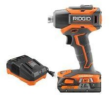 RIDGID 18-Volt Lithium-Ion Cordless Brushless 1/4 In. Impact Driver Kit with 2.0 Ah Battery and 18-Volt Charger-R86038SB4