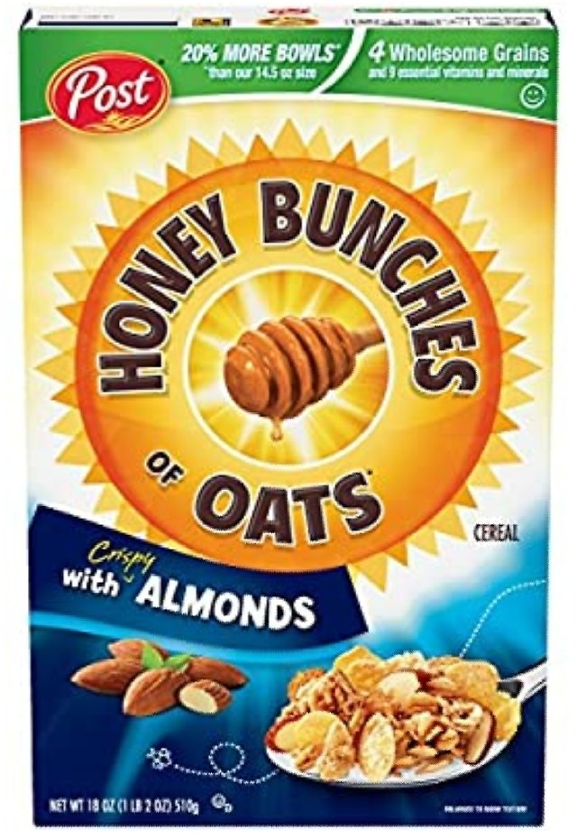 Honey Bunches of Oats with Crispy Almonds
