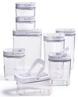 16-Pc. Tools of the Trade Food Container Set