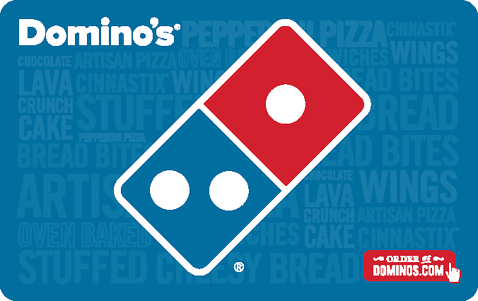 Domino's Pizza Gift Card for $19.99