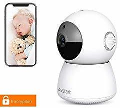 Indoor Home Security Camera 1080P, Wireless WiFi Surveillance Monitor for Office/Nanny/Pet/BabyIndoor Home Security Camera 1080P
