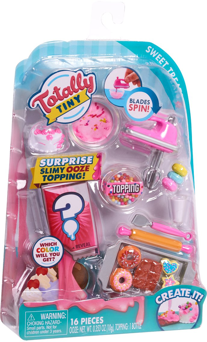 Totally Tiny Cook N' Serve Food Sets – Sweet Treats