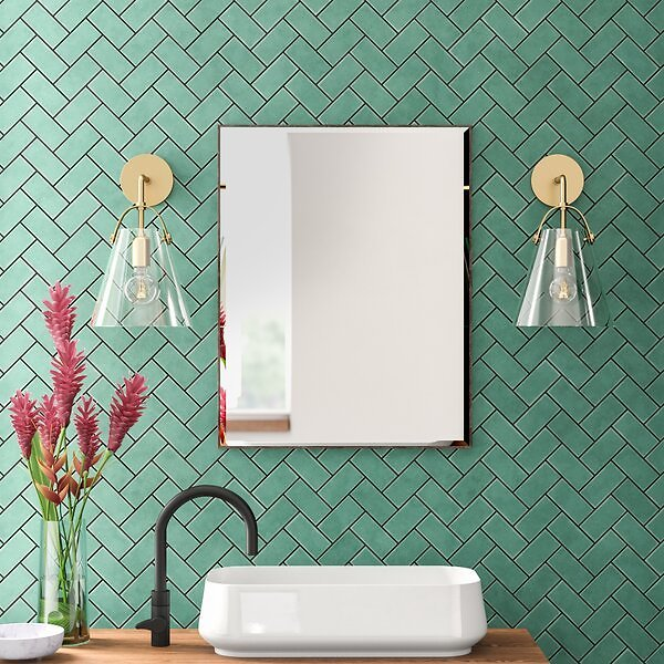 Logsdon Traditional Beveled Accent MIrror