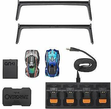 Anki Overdrive Starter Kit Includes 2 Racing Cars Charger Platform Tire Cleaner