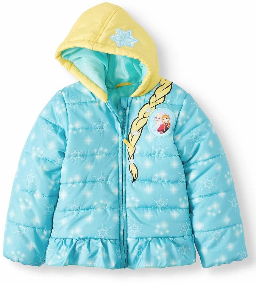 Disney Frozen Toddler Girl Costume Winter Jacket Coat