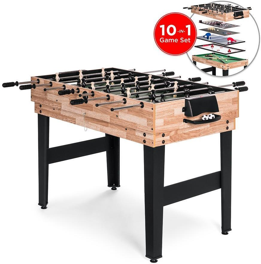 2'x4'10-in-1 Combo Game Table Set