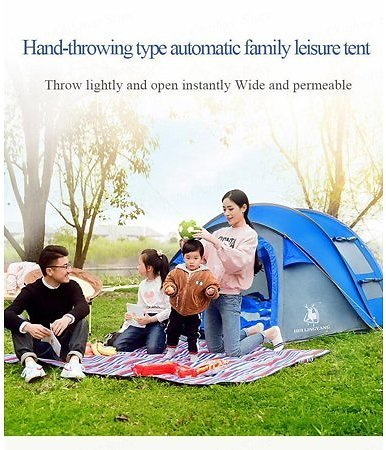 Tent for Camping | Automatic Tents Tent with Easy Setup for Outdoors