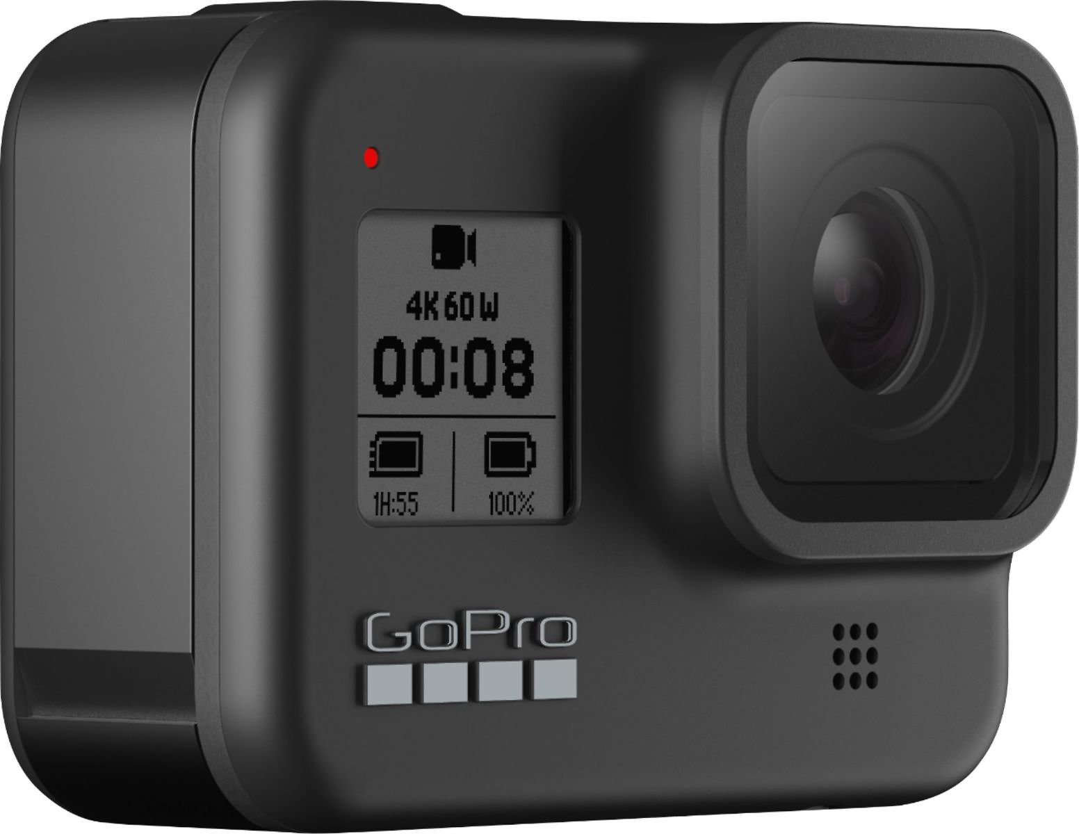 GoPro - HERO8 Black Live Streaming Action Camera - Black