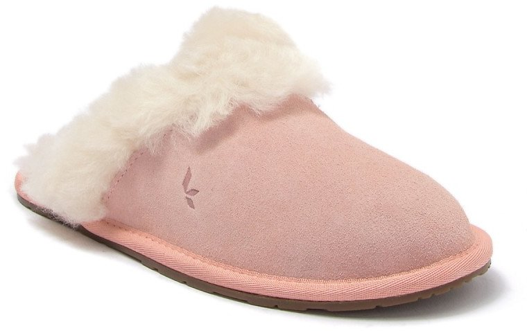 KOOLABURRA BY UGG | Milo Genuine Shearling & Faux Fur Trimmed Scuff Slipper | Nordstrom Rack