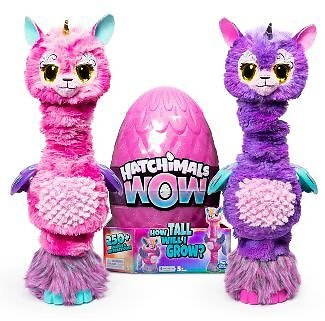Hatchimals WOW Llalacorn 32-in Interactive w/Re-Hatchable Egg