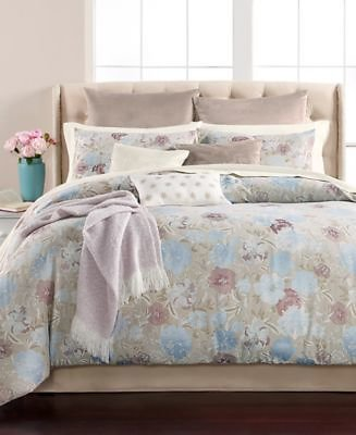 Martha Stewart Collection Faded Floral 220-Thread Count 14-Pc. Comforter Sets, Created for Macy's & Reviews - Bed in a Bag - Bed & Bath
