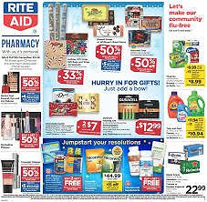 Rite Aid Weekly Ad - Select Items Up To 50% OFF & More Deals - (12/22/19-12/28/19)