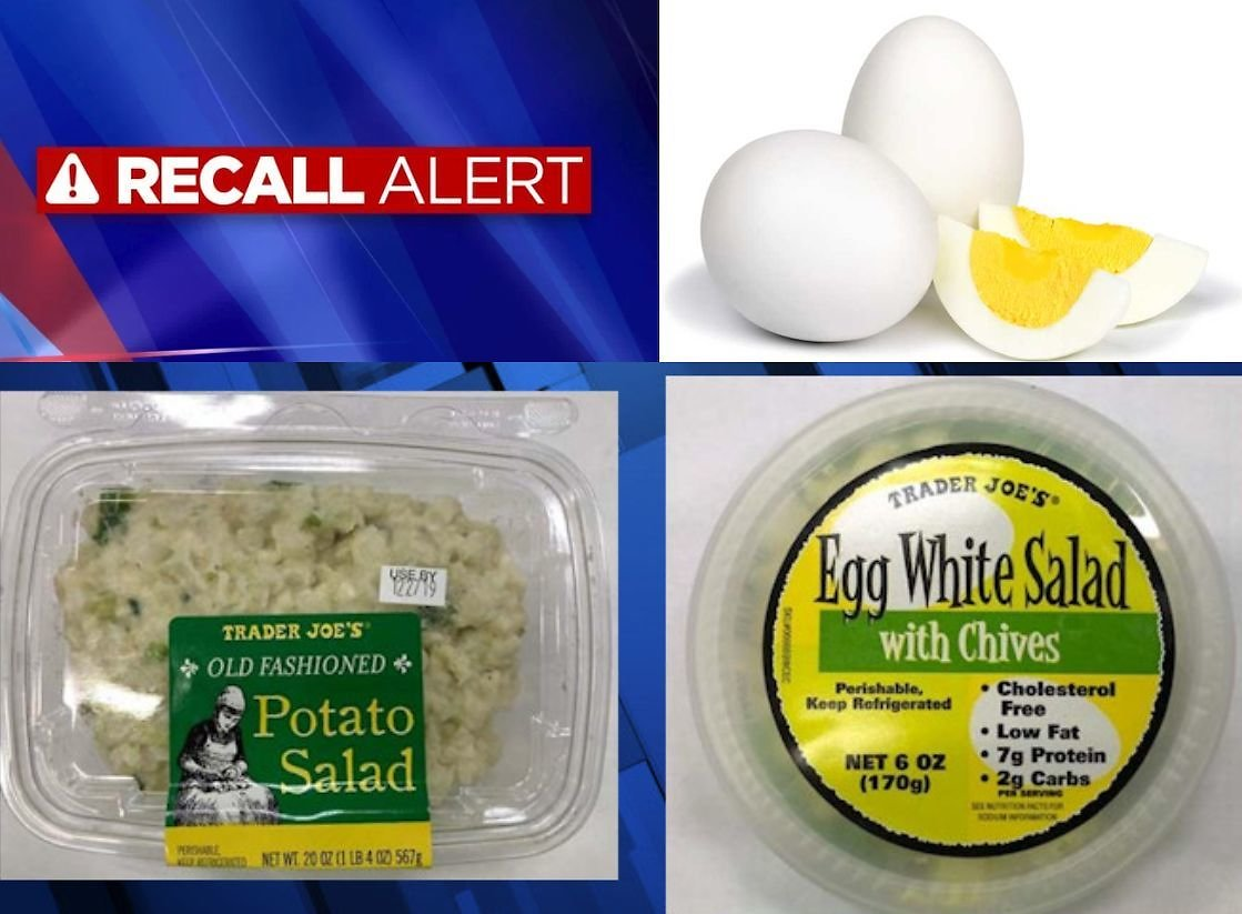Hard-boiled Egg Recall for Listeria Expands to Walmart and Trader Joe's Products