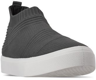 Skechers Women's Street Poppy Like Socks Slip-On Casual Sneakers from Finish Line & Reviews - Finish Line Athletic Sneakers - Shoes