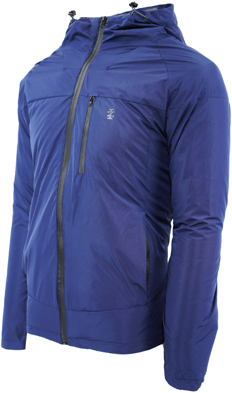 IZOD Men's Rip Stop Hooded 3 in 1 Systems Jacket