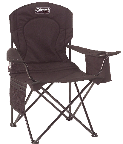 Coleman Portable Camp Chair with Built In Drinks Cooler