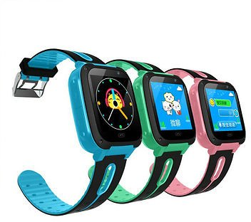 Bakeey Anti-lost GPS Tracker SOS Call GSM Kid Smart Watch Phone for IOS Android Smart Watch