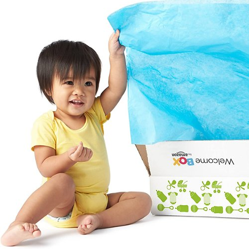 Free Amazon Welcome Box w/ Baby Registry! ($35 Value)