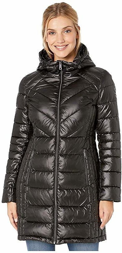 Zip Front Quilted Packable