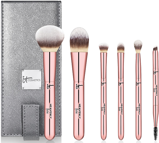 IT Cosmetics 7-Pc. Heavenly Luxe On The Go! Full Size Brush Set -