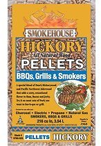 Smokehouse BBQ Wood Pellets, Hickory