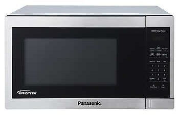 Panasonic 1.3CuFt Stainless Steel Countertop Microwave Oven NN-SC668S