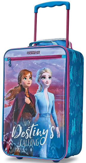 American Tourister Disney By Frozen 2 Softside Kids' Carry-On Luggage - Ships Free