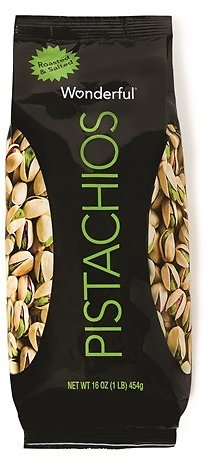 Wonderful Roasted and Salted Pistachios, 16oz