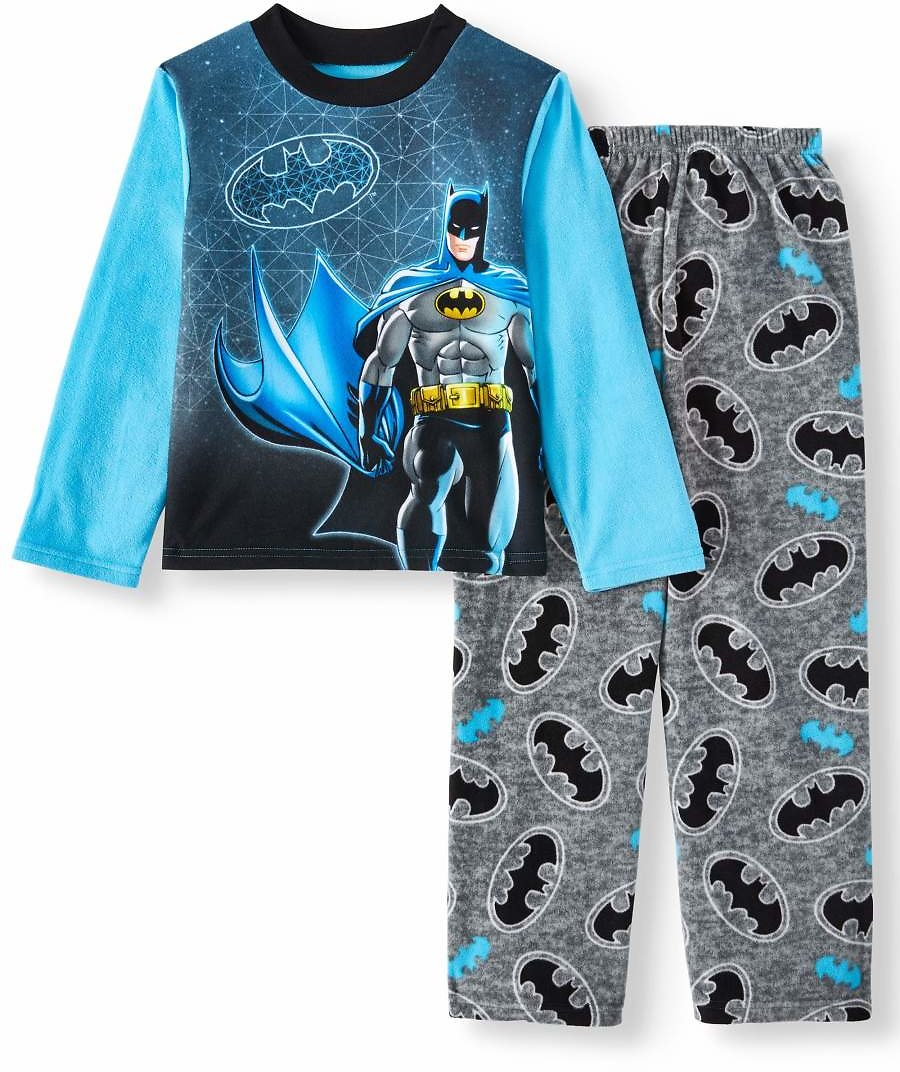 Boy's Batman 2pc Long Sleeve Pajama Set