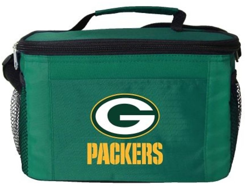 Green Bay Packers 6 Pack Cooler / Lunch Bag - Currently $18 On Amazon with 5 Star Reviews!