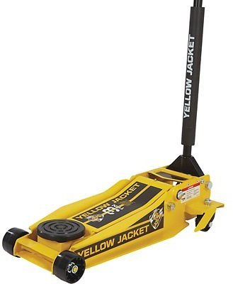 Yellow Jacket Low-Profile Super-Duty Jack — 3-Ton Lift Capacity, 4in.–23in. Lift Range  Northern Tool + Equipment