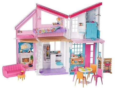 Buy Barbie Malibu House Doll Playset for USD 99.99 | Toys