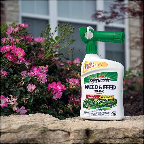 Spectracide Weed & Feed 20-0-0, Ready-to-Spray - Treats up to 7,500 sq ft
