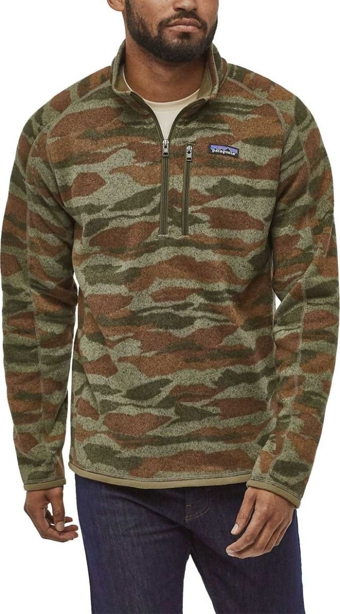 Patagonia Men's 1/4 Zip Pullover Sweater (5 Colors)