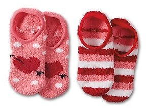 Serra Ladies' 2-Pack Cozy Footie Socks (1/29)