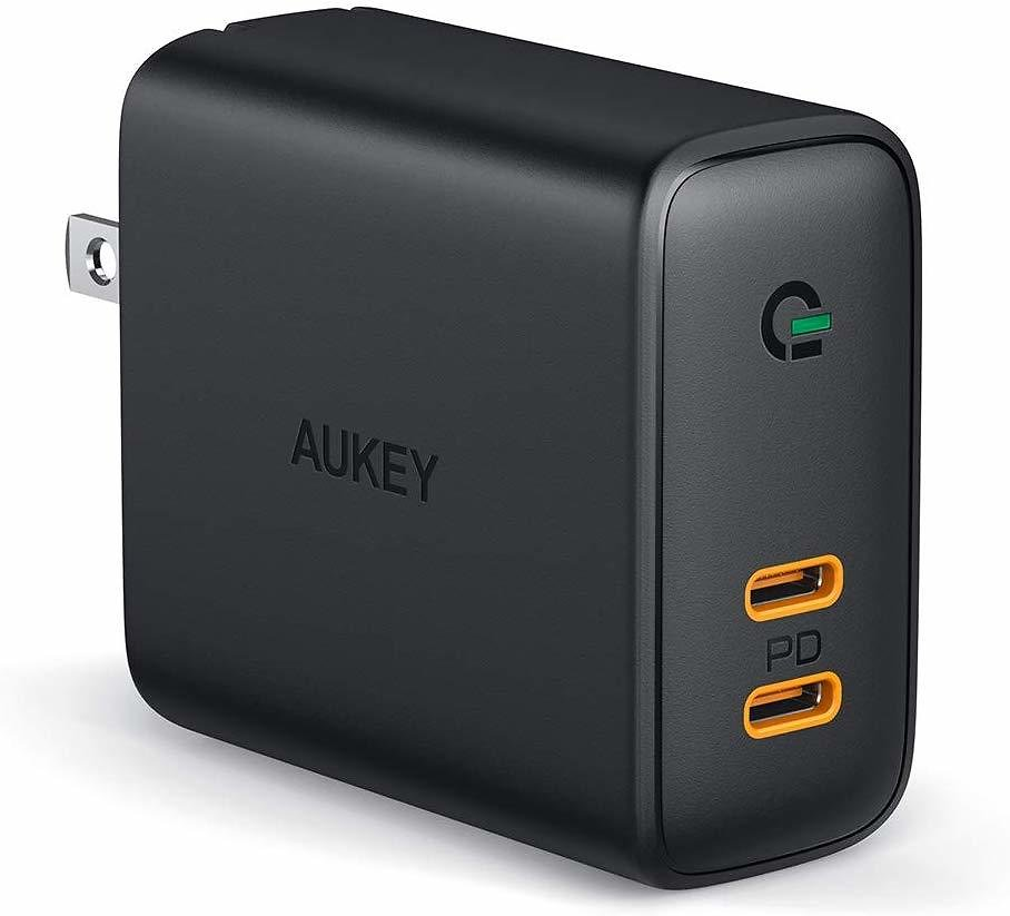 Aukey 36W 2-Port Power Delivery 3.0 Charger